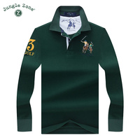 High Quality Tops Tees Solid Color Men Polo 3D Embroidery Poloshirt Casual Polo Shirts Winter Men