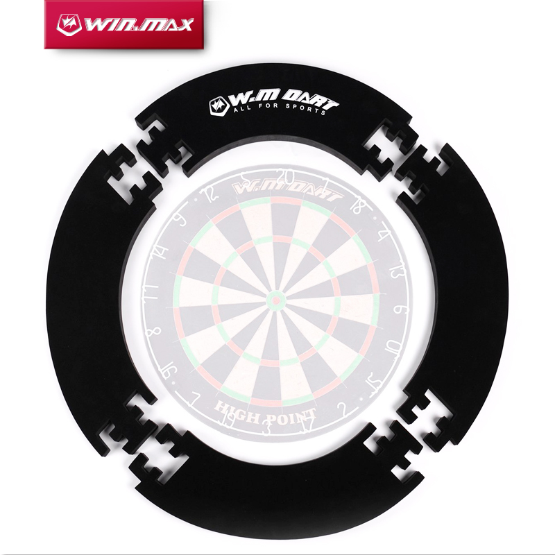 Winmax 4 قطع / أجزاء مجموعة 1 Eva Wall Protector Dart board Surround Ring لـ 18 بوصة Bristle Dartboard