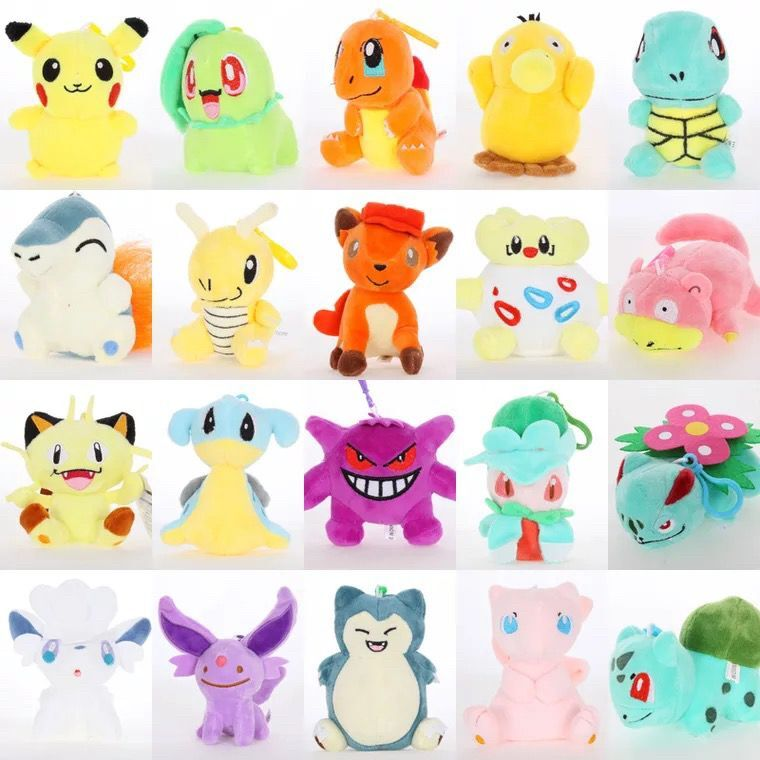 Anime Game Pokemon Pikachu Snorlax Cosplay Props 10 Styles Cute Elf Baby Pet Toys Plush Doll Pillow Kids Teens Gift Decoration Novelty & Special Use Costume Props