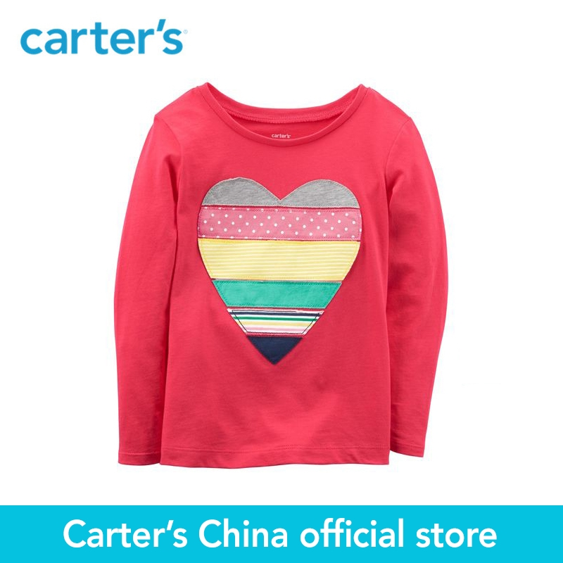 Carters 1-Piece baby children kids clothing Girl Spring Summer One Of A Kind Jersey Tee 253H749/273H845