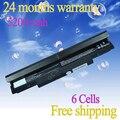 Jigu bateria para samsung n143 n145 n148 n150 n250 n260 n250p n260p além de laptop de 6 células