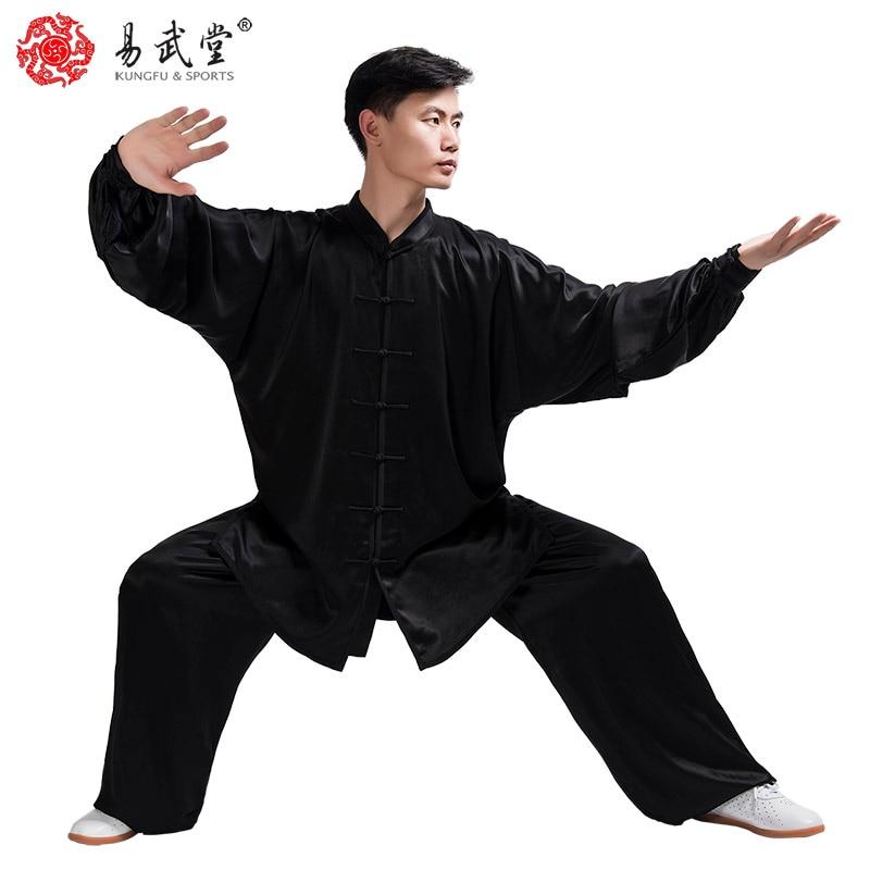 Chinese martial arts produce Kung fu suit high quality Tai chi uniform and Taiji clothing Wushu set high quality tai chi clothing kung fu uniform martial arts wushu clothes taiji sword suit for women girl kids children customize