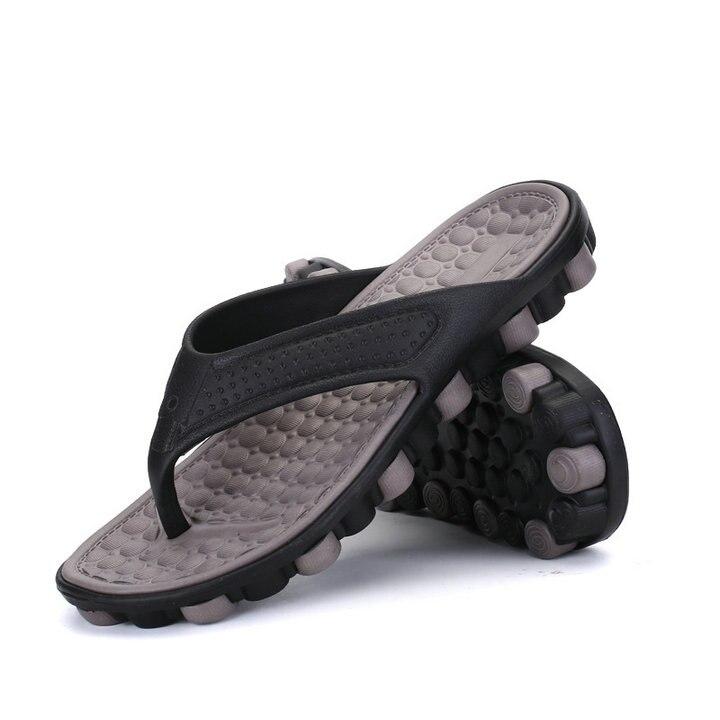 2018 Summer Casual Fashion Men's flip flops Beach Sandals Men outdoor Flat Slippers Outside non-slip Shoes Sandals