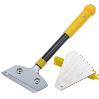 300mm Cleaning Shovel Knife Glass Scraper Floor Tiles With Cutter Blades Multi Purpose Cleaning Hand Tools