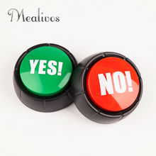1 set Said a variety of ways YES and NO Sound Button Party tools