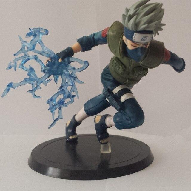 Anime Naruto Kakashi Sasuke Action Figure Puppets PVC Toy