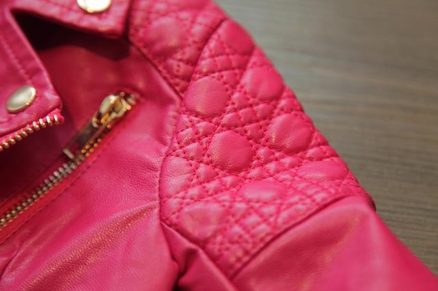 Children Leather Outwear For Girl  (6)