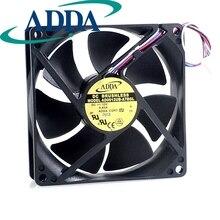 ADDA New original 9025 12V 0.45A AD0912UB-A7BGL 9cm PWM fan thermostat for  90*90*25mm