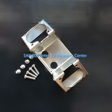 3D printer Ultimaker 2 + UM2 Dual Heads Extruder Hotend Stainless Steel Dual Fan Bracket Fans for Olsson block kit
