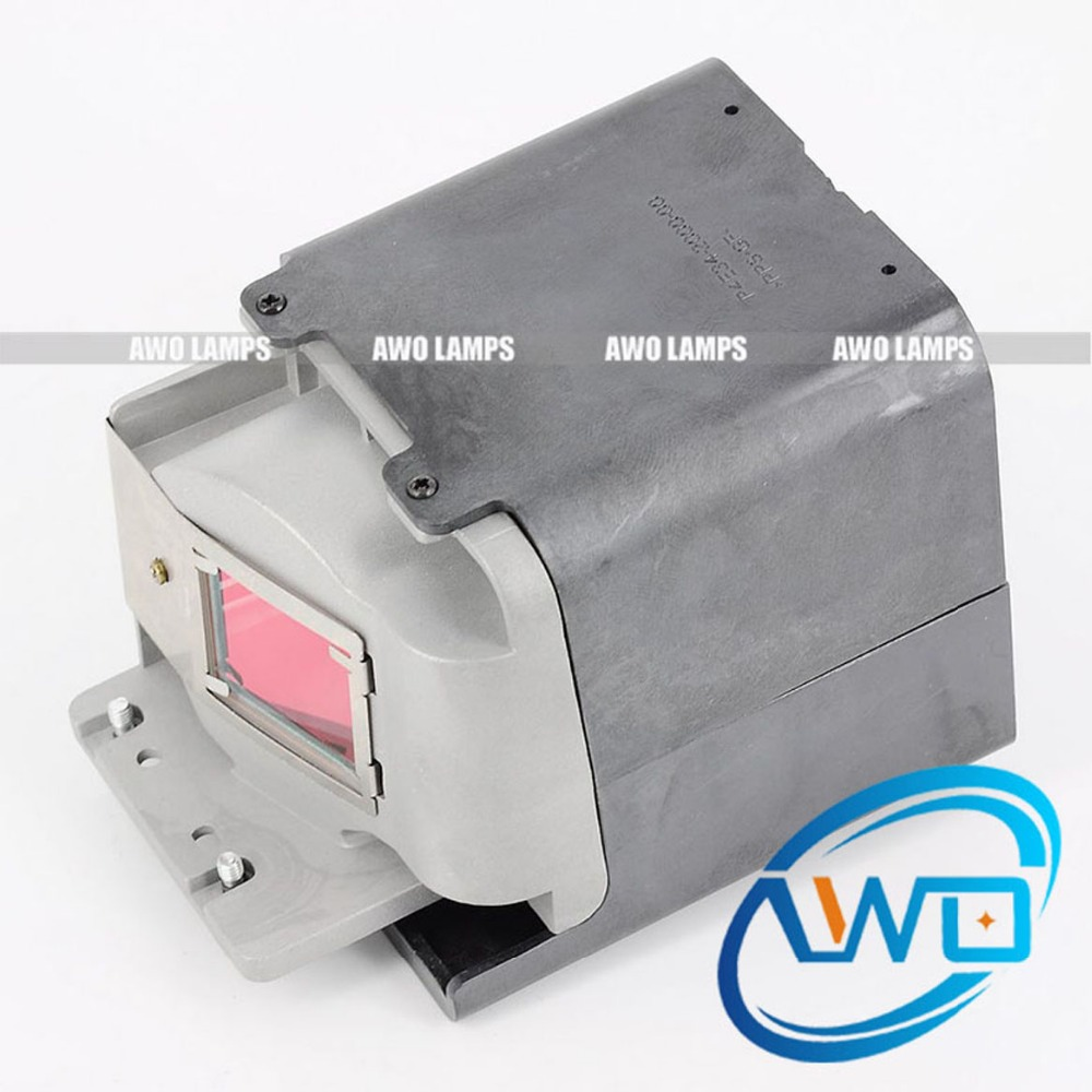 AWO 100% Original Projector Lamp 5J.J3S05.001 with New Housing for Projector BENQ EP4127C EP4227C EP4328C MS510 MW51 MW512 MX511 original projector lamp 5j 06001 001 with housing for benq mp612c