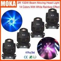 4 шт./лот 2R Moving Head свет сценический эффект освещения рождественские огни в помещении Открытый проектор