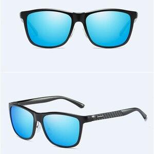 Image 3 - Barcur Aluminium Mannen Zonnebril Gepolariseerde Mannelijke Zonnebril Voor Mannen Vrouwen Brillen Accessoires