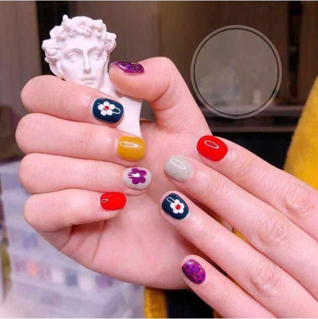 Дизайн ногтей Красота водная наклейка слайдер наклейка для ногтей маленькая FLOEWR фруктовая Звезда Луна
