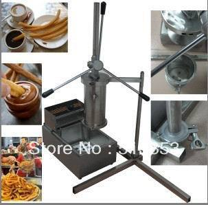Churros machine, churros maker, Spanish churros machine, churros dispenser---BG-CR 12l electric automatic spain churros machine fried bread stick making machines spanish snacks latin fruit maker