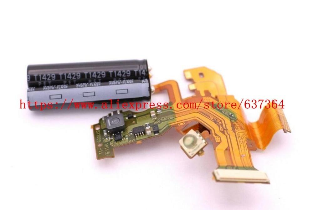 NEW For Sony HX50 HX50V DSC-HX50V DSC-HX50 DSC-HX60V DSC-HX60 Top Cover Flash Control Board Flex Cable Repair Parts