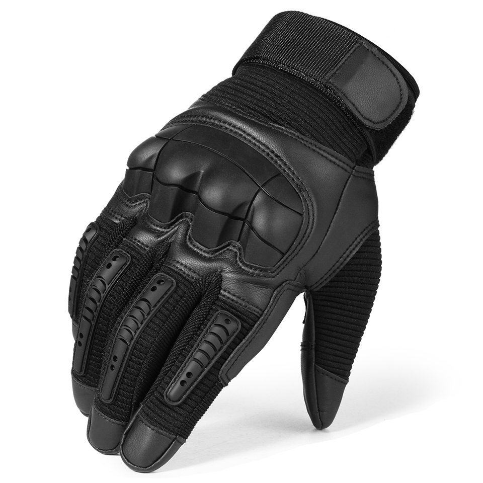 HTB1 97rQgHqK1RjSZFkq6x.WFXaP - Touch Screen Leather Motorcycle Gloves Motocross Tactical Gear Moto Motorbike Biker Racing Hard Knuckle Full Finger Glove Mens