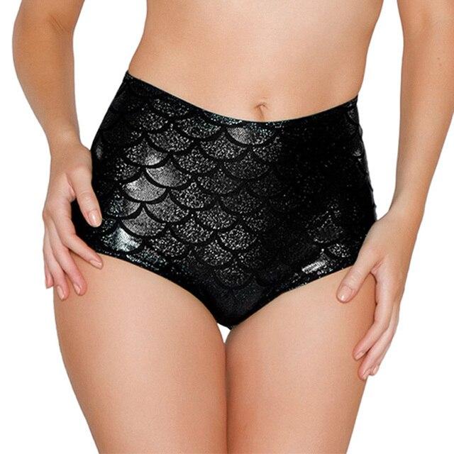 สูงเอวหนังเซ็กซี่ขั้วโลก Booty กางเกงขาสั้น Clubwear Micro กางเกงขาสั้นปลา Perlage Mini สั้น Mujer