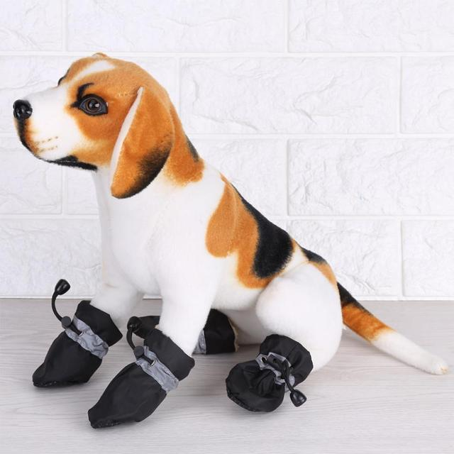 Winter Warm Dog Shoes