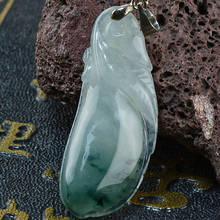 Colgante de jade Boutique Unique jewelry Jade Colares pingentes Necklace pendant Ciondolo della giada