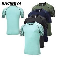 Basketball Jersey Short-Sleeve Training-Shirts Top-Football Gym Fitness Bodybuilding