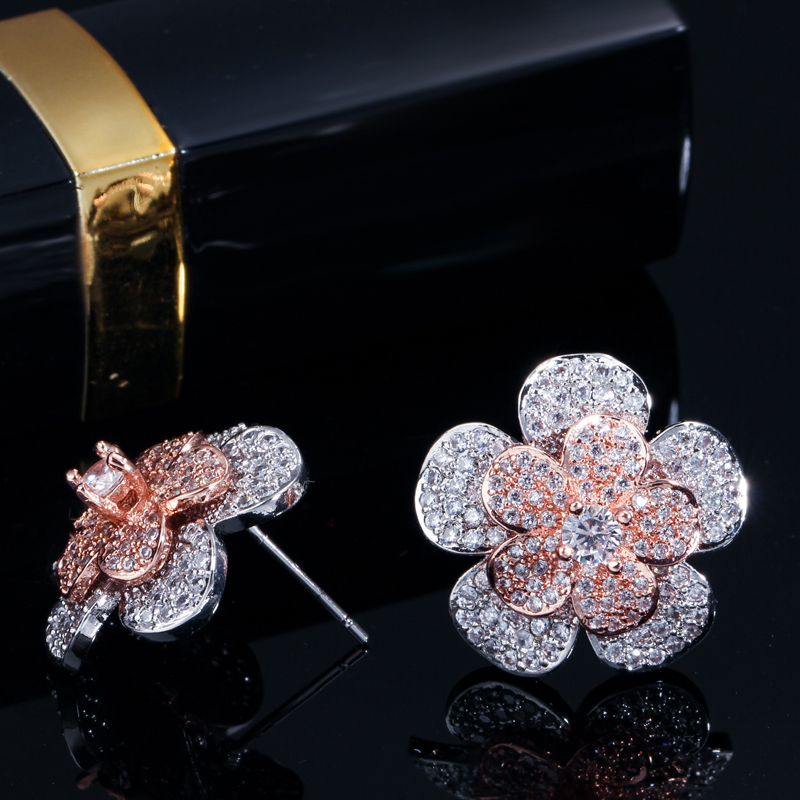 flower stud earrings2