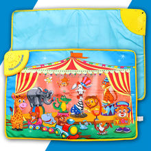 Baby musical carpet cloth baby play mat animal sound Play Mat Kid's Educational Toy