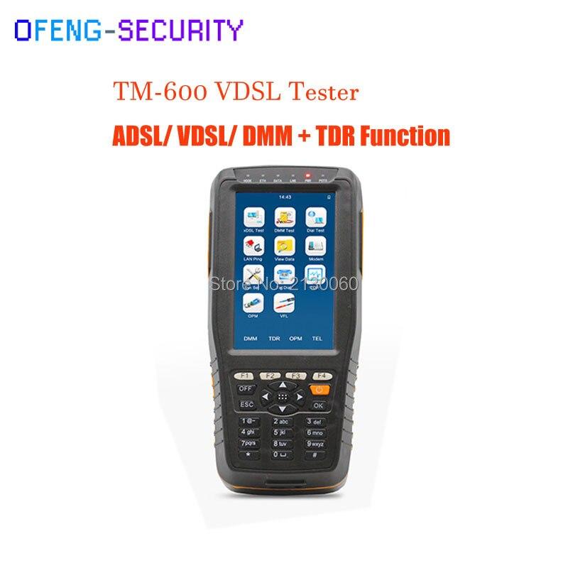 TM-600 VDSL VDSL2 Tester ADSL WAN & LAN Tester XDSL Line Test Equipment With Basic Version + TDR Function