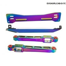 Brace-Tie-Bar Subframe Neo Chrome Mitsubishi Mirage Rear for 1997-2001 TK-EVOASRLCAB-D-7C