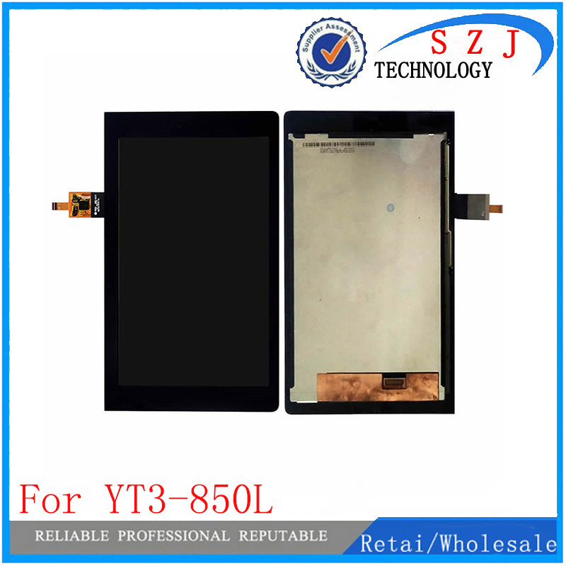 New 8 inch For Lenovo YOGA YT3-850L MT ZA0A LCD Display With Touch Screen Digitizer Assembly Free Shipping new 8 3 inch lcd display touch screen digitizer glass assembly for lg g pad 8 3 v500 wifi and 3g version free shipping