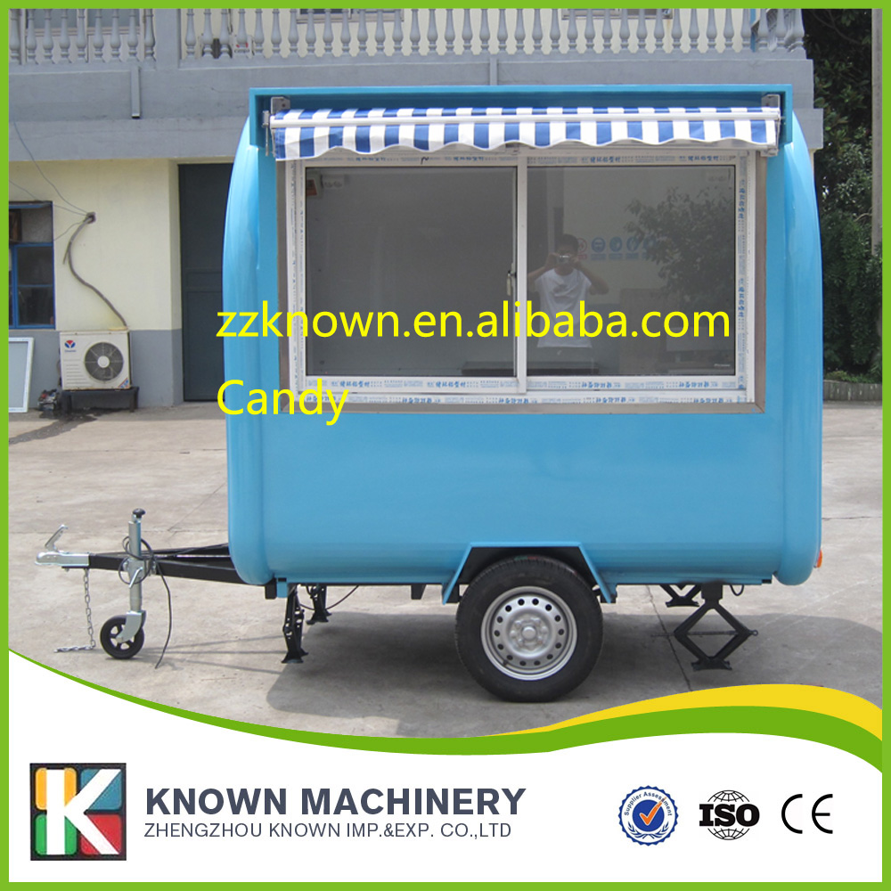 280HW mobile food carts/trailer/ ice cream truck/snack food carts ...