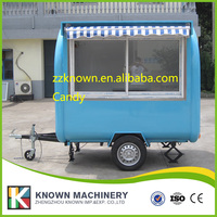 Hot Sale Enclosed mobile food trailer ice cream van stickers mobile food cart,Mobile Food Cart Food Truck coffee with canopy
