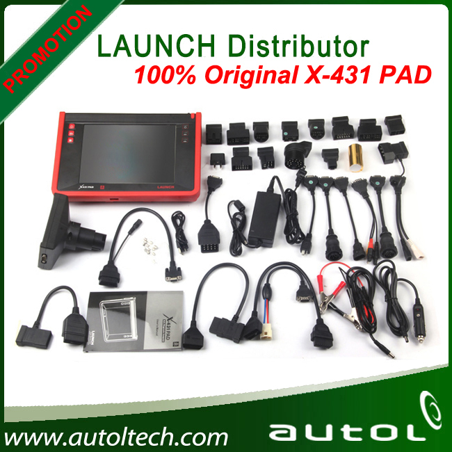 Free software download Launch X431 Pad Auto scanner support 3G WIFI