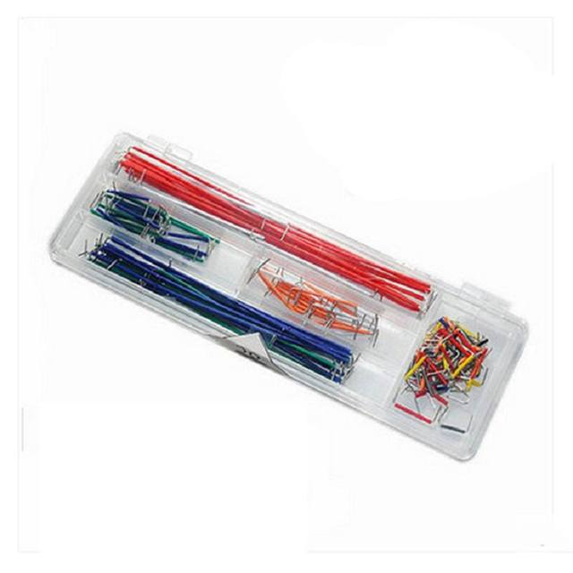 140 PCS U Shape Solderless Breadboard Jumper Cable Wire Kit for Arduino Shield for Raspberry Pi