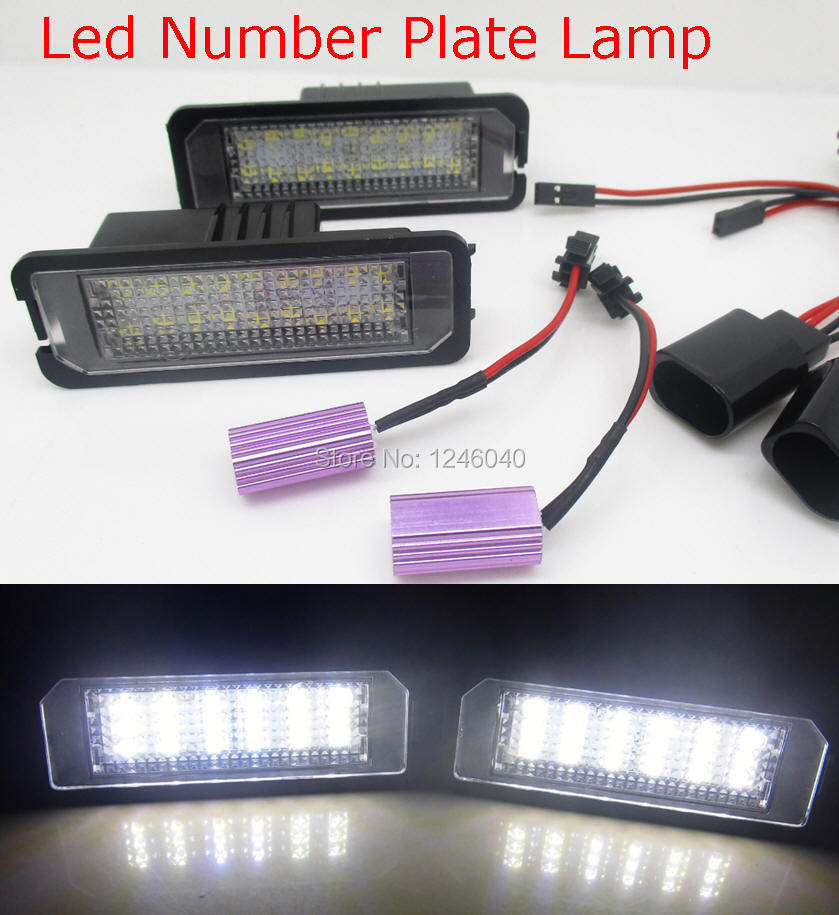 LED Number Plate Lamp License Plate Light For Bentley