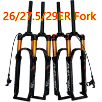 PASAK bicycle air fork 26 27.5 29 ER MTB mountain suspension fork air resilience oil damping line lock for over SR SUNTOUR EPIX
