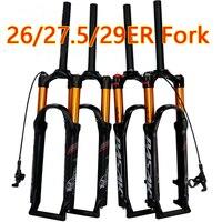PASAK bicycle air fork 26 27.5 29 ER MTB mountain suspension fork air resilience oil damping line lock for over SR SUNTOUR EPIX