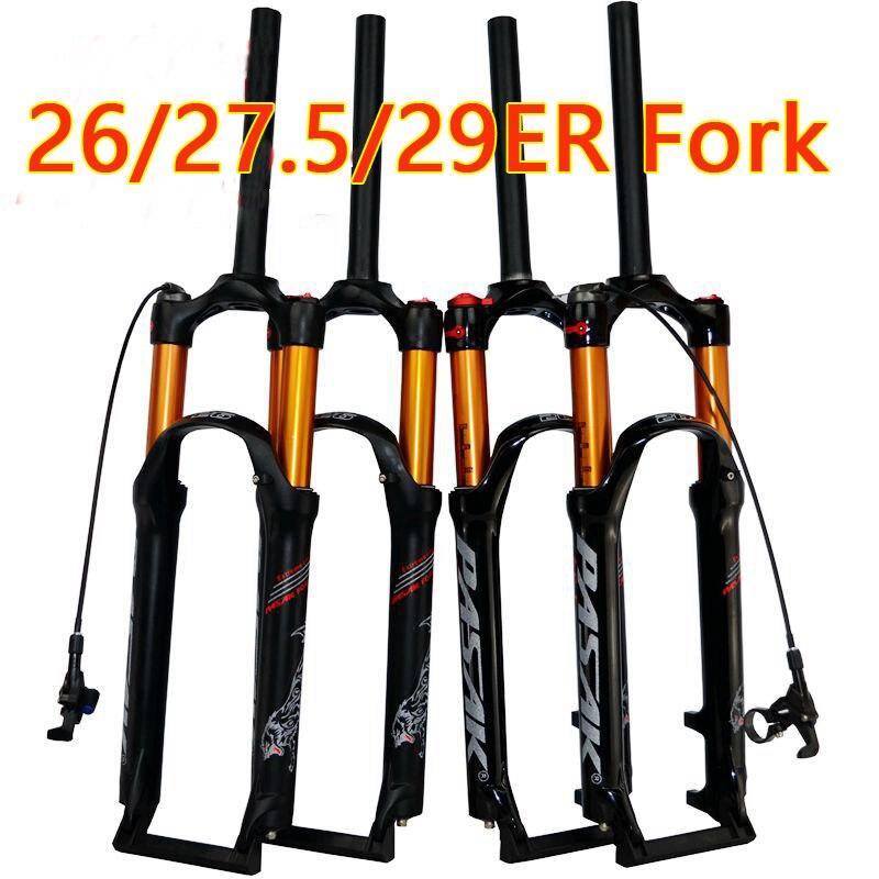 PASAK vélo air fourchette 26 27.5 29 ER VTT montagne suspension fourche air huile de résilience de amortissement ligne serrure pour sur SR SUNTOUR EPIX
