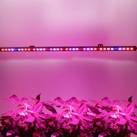 Red&Blue Spectrum 108w 115cm Led Plant Grow Light Strip Bar 36pcs Super Leds with reflect cup for Indoor Growth Tent with UV IR