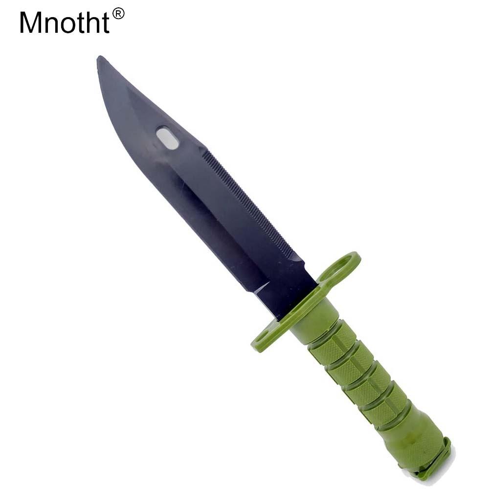 1 Pcs Manoeuvre War Games Cosplay Trick Prank WG ABS Soft Plastic Fake Knife Model Knife Toy Soft For Children Toys L65