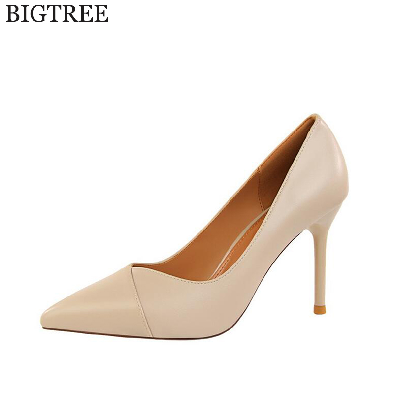 new Brand Shoes Woman High Heels Pumps Red High Heels Women Shoes Pumps Black Nude Shoes Heels Wedding Shoes k293 2017 new high heeled shoes woman pumps wedding shoes platform fashion women shoes red high heels 11cm suede