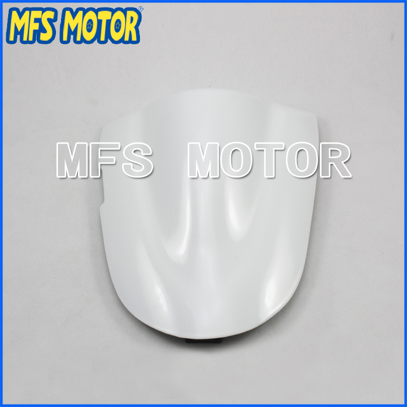 Motorcycle Rear Pillion All White Injection ABS Seat Cowl Cover For Suzuki GSXR600/750 K6 2006 2007 Motorcycle Part
