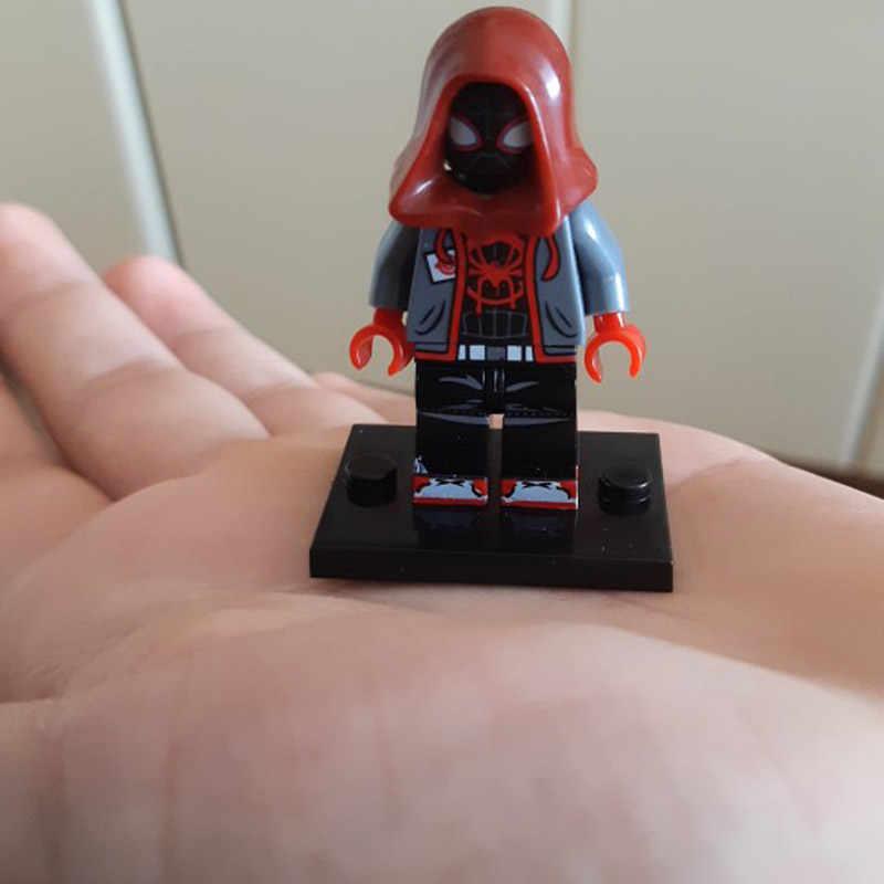 Juguete de regalo para niños de Gwen Stacy Ghost Spider-Ham Prowler Ultimate Spider-Man