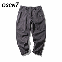 OSCN7 Grey Casual Cargo Pants Men 2018 Spring New High Quality Tactical Camouflage Pants Men Military