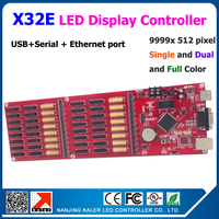 kaler Kaler X32E led display screen controller support 512*9999 pixel big full color indoor outdoor led display screen