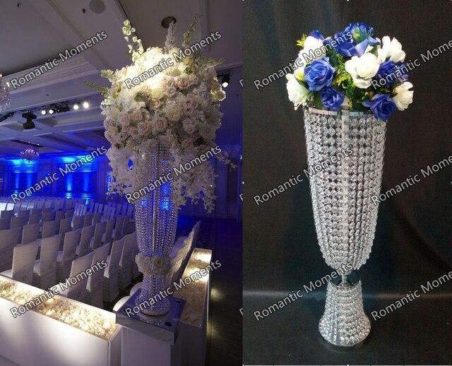 80cmH Wedding Crystal Chandelier Banquet Table Centerpiece Decoration 10pcs Lot