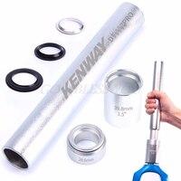 Free Shipping 1Set DT 107 Bike MTB Fork Base Installation Headset Bottom Washer Tool New For 28.6 1.5 1.25