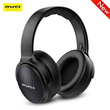 NEW AWEI A780BL Bluetooth 5.0 Earphone Wireless Headphone With Microphone Deep Bass Gaming Headset Waterproof IPX5 Headphones