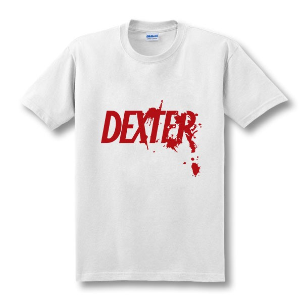 Fashion DEXTER Morgan Art - Butcher Shop T-shirt Tshirt Men Board Games Dexter Serial Killer TV Show Gift Crime Mystery T Shirts