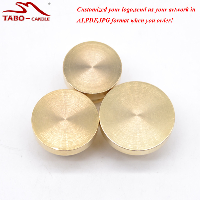 Classic Blank Brass Sealing Wax Stamp Can Be Customized Your Picture Customized Your Logo Wooden Handle