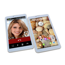 Buy online Glavey 7 inch 3G phone call tablet pc U708 4GB SC7730A Quad Core Dual cameras Android 5.1 Bluetooth Wifi 1024*600 FM Playstore